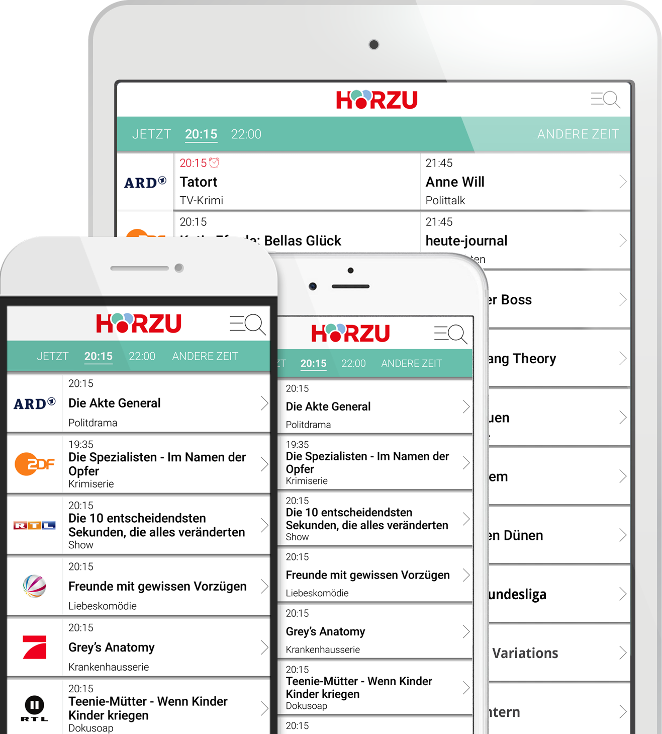 HÖRZU Android/iPhone Home